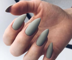 grey and nails image