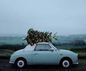 car, christmas, and new year image