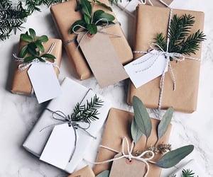 christmas, green, and presents image