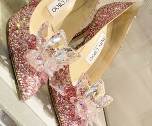 cinderella, glass slippers, and Jimmy Choo image