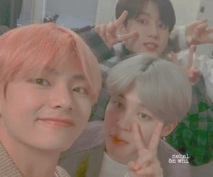 aesthetic, bts, and maknae line image
