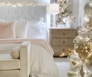 pink bedroom, shabby chic, and girly bedroom image