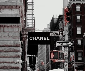 chanel, city, and luxury image