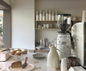 breakfast, kitchen, and cream aesthetic image