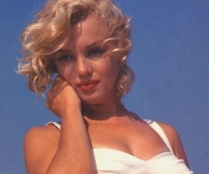 Marilyn Monroe, vintage, and aesthetic image