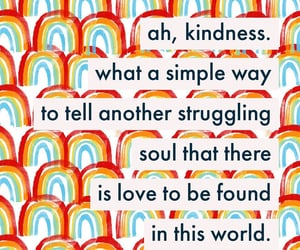 kindness, optimism, and positivity image