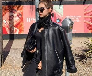 black, kfashion, and sunglasses image