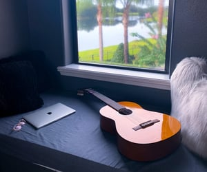 chill, guitar, and photography image