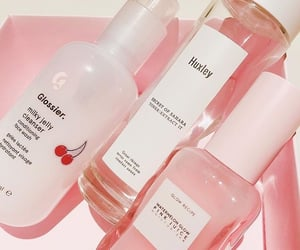 aesthetic, pink, and skincare image
