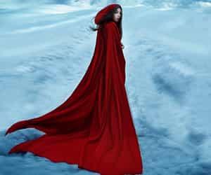 beauty, cape, and fairytale image
