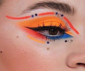 aesthetic, eye, and fashion image