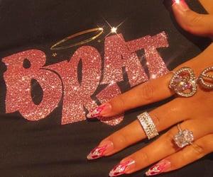 bratz, pink, and nails image