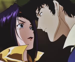 anime, Cowboy Bebop, and spike image