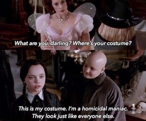 film, the addams family, and wednesday addams image