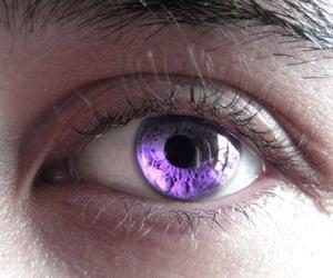 eyes, eye, and purple eye image