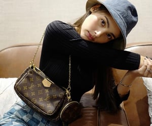 accessory, asian girl, and bag image