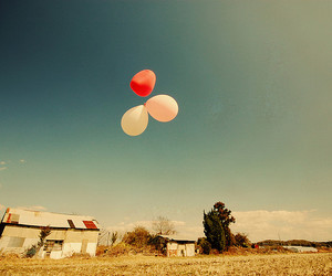 balloons, interestingness, and blue image