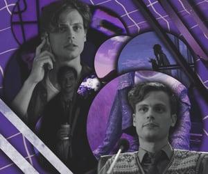 criminal minds, purple, and purple theme image