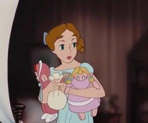 cartoon, disney, and girl image
