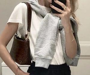 autumn, bag, and fashion image