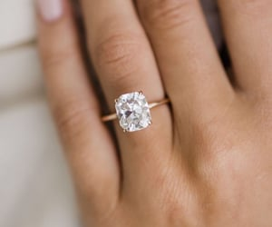 fashion, diamond, and rings image