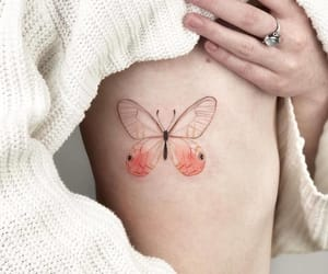 butterfly, tattoo, and Tattoos image