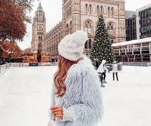 christmas, girly, and ice skating image