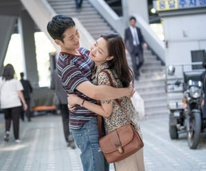love story, kim go eun, and jung hae in image