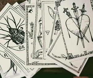 cards, tarot, and magic image
