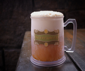 butterbeer, harry potter, and drink image