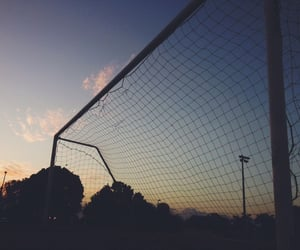 aesthetic, football, and scenery image
