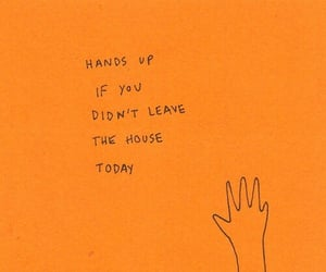 hand, hands up, and house image