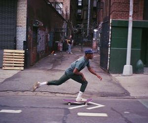 skate, skateboard, and skater image