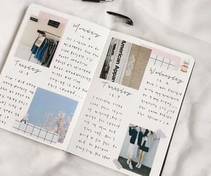 aesthetic, journal, and bullet journal image