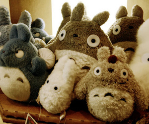 totoro, cute, and toys image