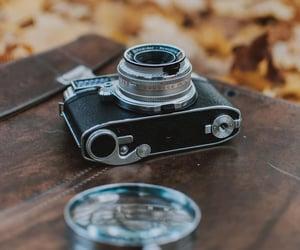camera, autumn, and compass image