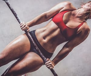 fit, stretching, and fitness image