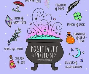 magic, positivity, and words image
