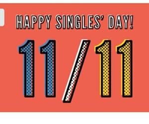 happy, november, and single image