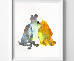 etsy, valentines day, and lady and the tramp image