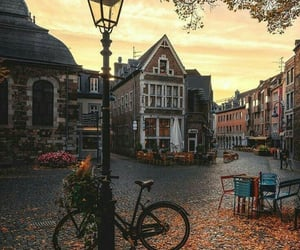 autumn, city, and fall image