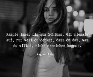 deutsch, never give up, and sprüche image