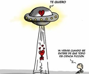 amor, humor, and ciencia ficcion image