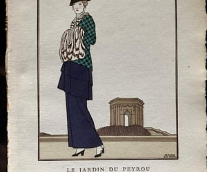 french print, George Barbier, and christmasgift image
