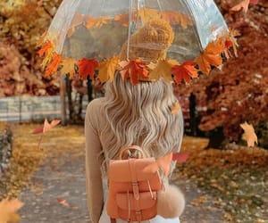 autumn, fashion, and woman image