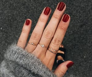nails, jewelry, and fashion image