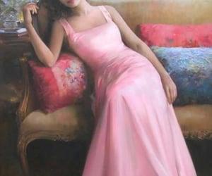 art, dress, and beauty image