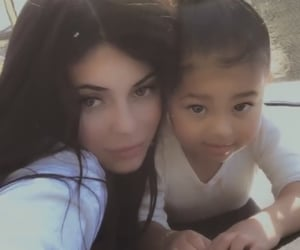 stormi, kylie jenner, and kylie image
