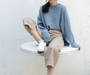 ulzzang, fashion, and korean image