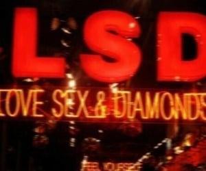 aesthetic, diamonds, and lights image